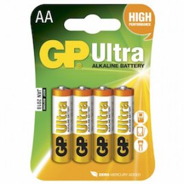 AA Batteri GP Ultra LR6