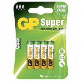 AAA Batteri GP Super LR3