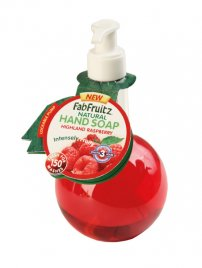 FabFruitz Hand Soap Highland Raspberry 300ml