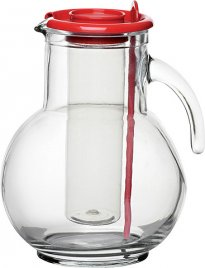 KUFFRA JUG WITH RED LID 75OZ (225CL)