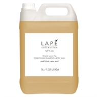 Lapé Collection Oriental Lemon Tea duschtvålschampo refill 5000 ml