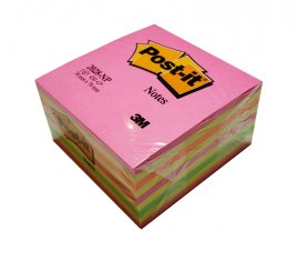 Post-it kub Neon Notiskub 450ark