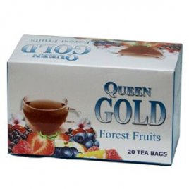 Queen Gold Forest Fruits 20-pack