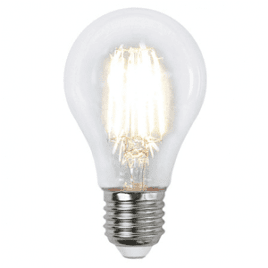 Normal LED-lampa 6,5W E27 Klar