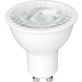 Spotlight LED-lampa 4W GU10 Vit