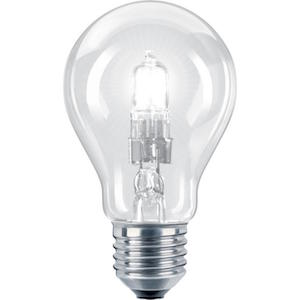 Halogenlampa Normal E27 42W klar