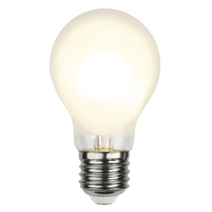 Normal LED-lampa 6,5W E27 Frostad
