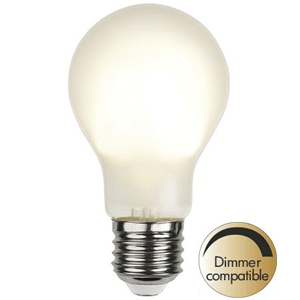 Normal LED-lampa Dimbar 4,8W E27 Frostad